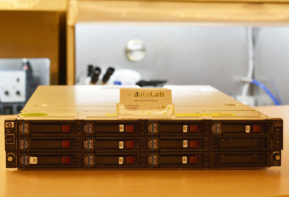 Server HP Proliant DL185G5